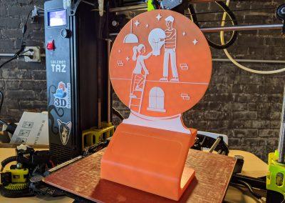 3D Printed Trophy