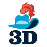 3D Musketeers Logo